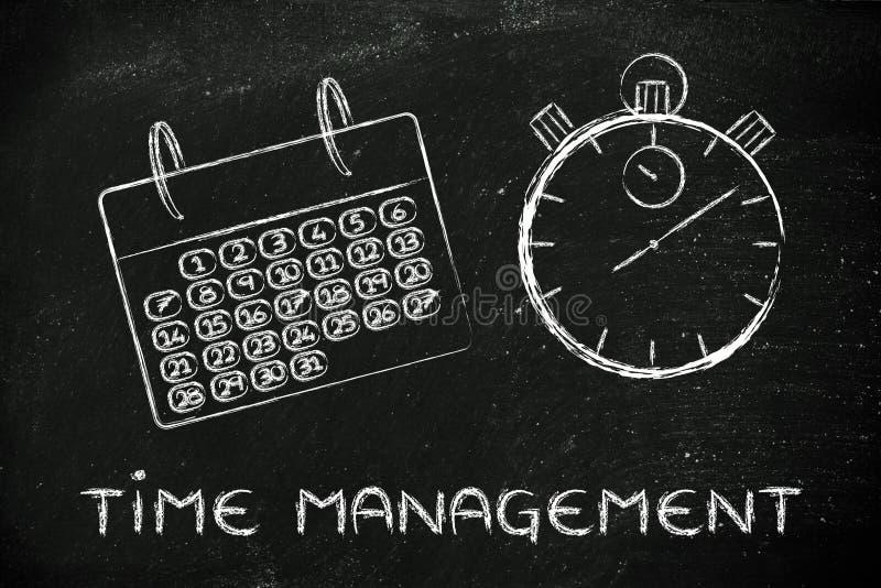 Διαχείριση χρόνου και του προγράμματος για το παγκόσμιο επιχειρηματικό πεδίο, ημερολόγιο στοκ φωτογραφίες με δικαίωμα ελεύθερης χρήσης