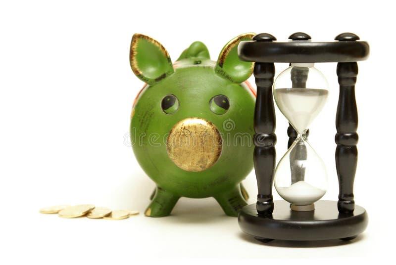 Διαχειριστείτε το χρόνο και τα χρήματα στοκ εικόνα με δικαίωμα ελεύθερης χρήσης