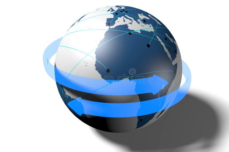 Διαδίκτυο, δίκτυο, παγκόσμιο, μεταφορά, σύνδεση απεικόνιση αποθεμάτων