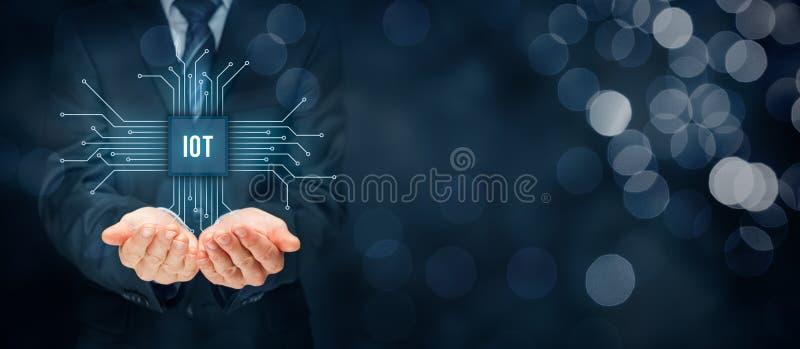 Διαδίκτυο των πραγμάτων IoT στοκ εικόνες με δικαίωμα ελεύθερης χρήσης