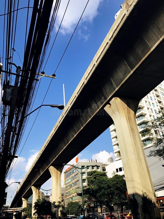 Διαδρομή μετρό της Μπανγκόκ στοκ εικόνες με δικαίωμα ελεύθερης χρήσης