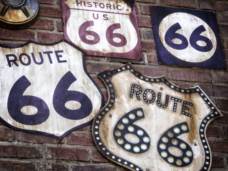 Διαδρομή 66 συλλογή στοκ φωτογραφία με δικαίωμα ελεύθερης χρήσης