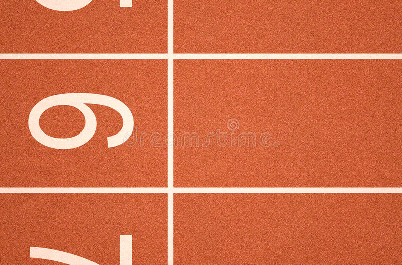 Διαδρομή Startline αθλητισμού στοκ φωτογραφία με δικαίωμα ελεύθερης χρήσης
