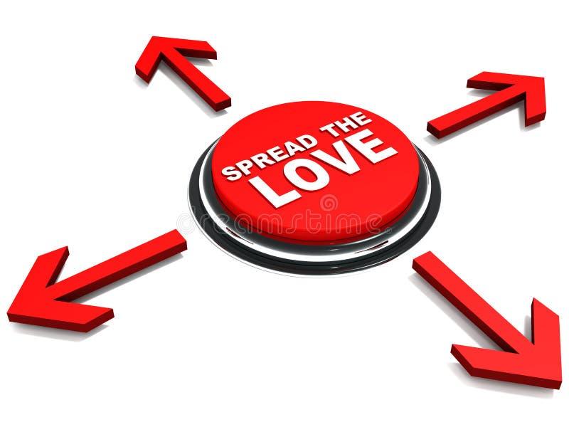 Διαδώστε την αγάπη απεικόνιση αποθεμάτων