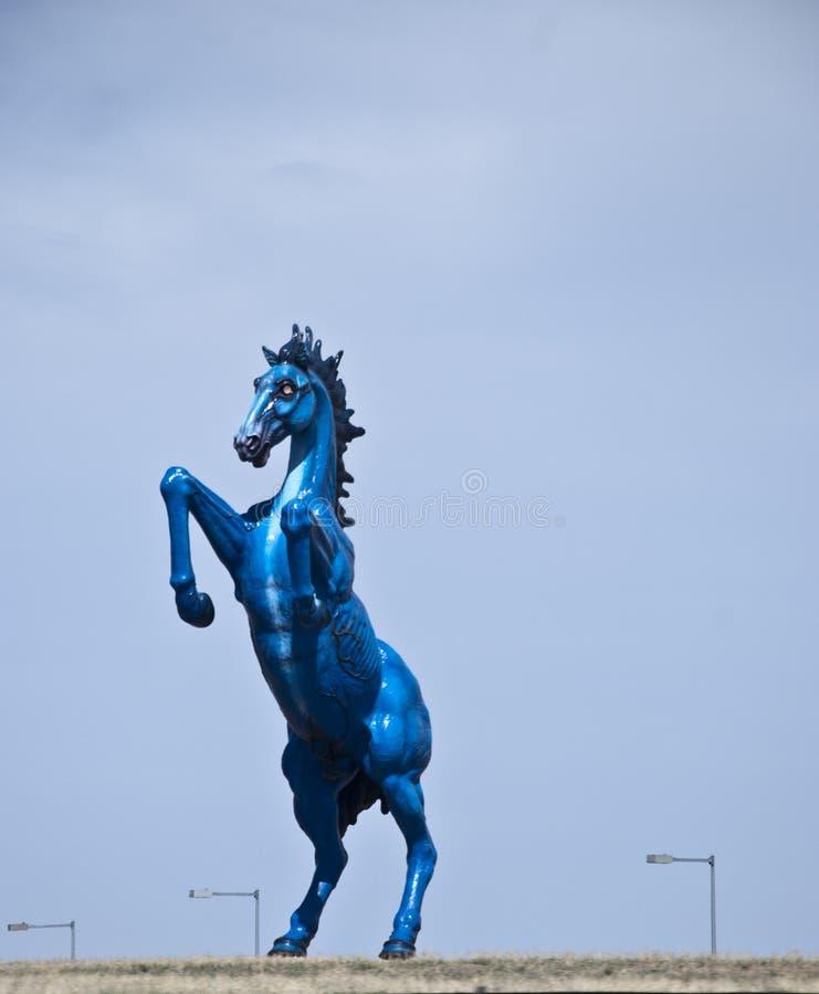 διεθνές άγαλμα του Ντένβερ αερολιμένων στοκ φωτογραφία με δικαίωμα ελεύθερης χρήσης