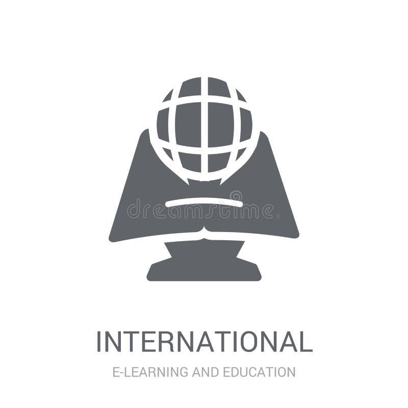 Διεθνές εικονίδιο  διανυσματική απεικόνιση
