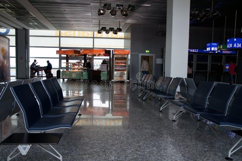 Διεθνές εσωτερικό αερολιμένων της Φρανκφούρτης στοκ φωτογραφία με δικαίωμα ελεύθερης χρήσης