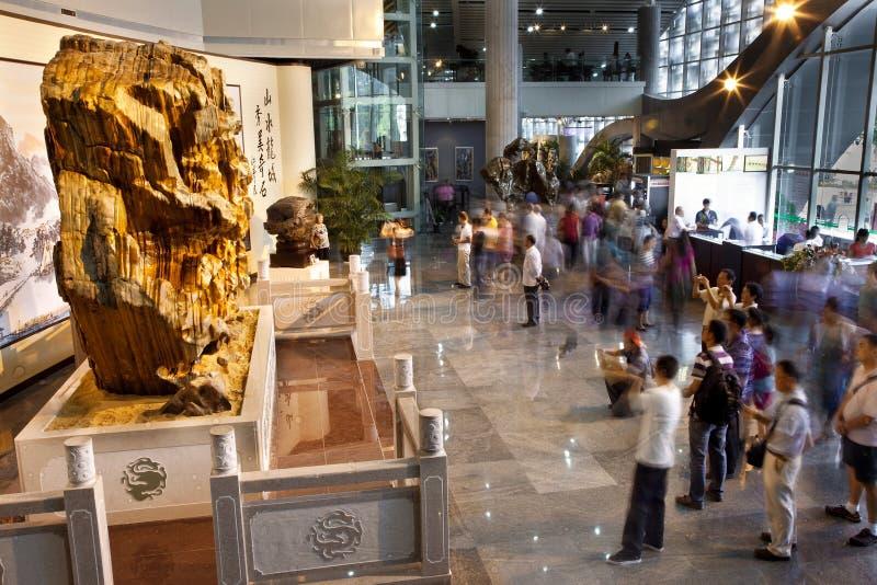 Διεθνές σπάνιο φεστιβάλ πετρών Liuzhou στοκ φωτογραφίες
