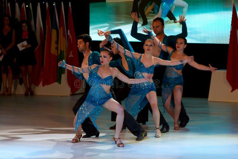 Διεθνές φεστιβάλ χορού Bodrum στοκ εικόνες