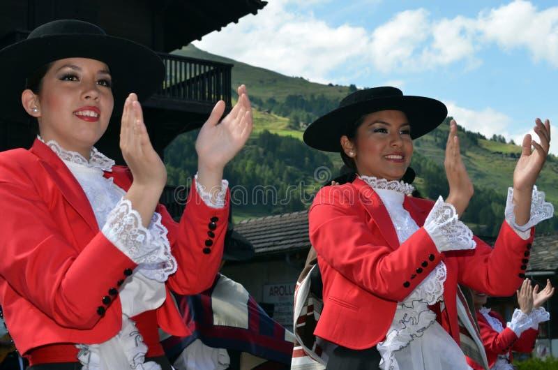 Διεθνές φεστιβάλ χορού βουνών στοκ εικόνα