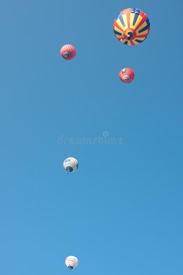 διεθνές montgolfeerie φεστιβάλ μπαλ&o στοκ φωτογραφία με δικαίωμα ελεύθερης χρήσης