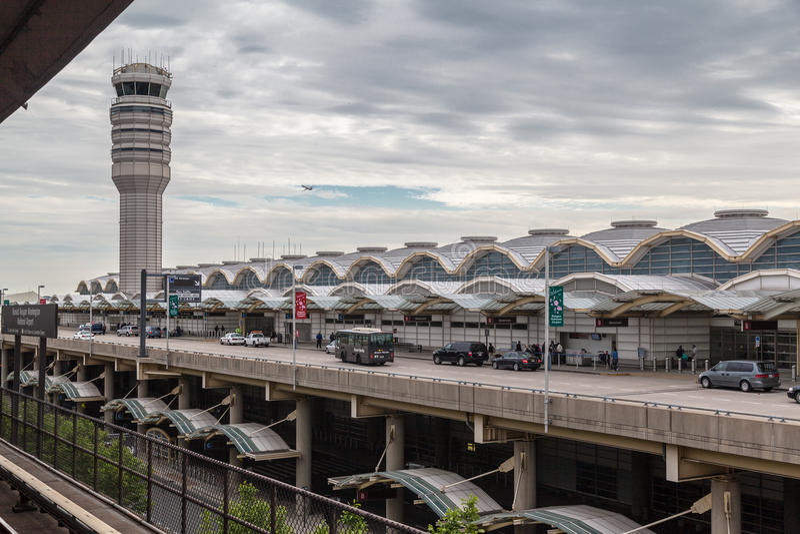 Διεθνής αερολιμένας Ουάσιγκτον Dulles στοκ φωτογραφία