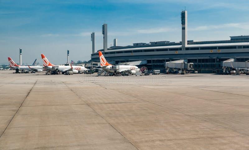 Διεθνής αερολιμένας Ρίο ντε Τζανέιρο στοκ εικόνα