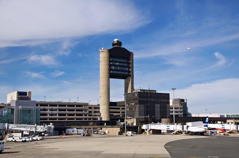 Διεθνής αερολιμένας του Logan στη Βοστώνη στοκ φωτογραφία