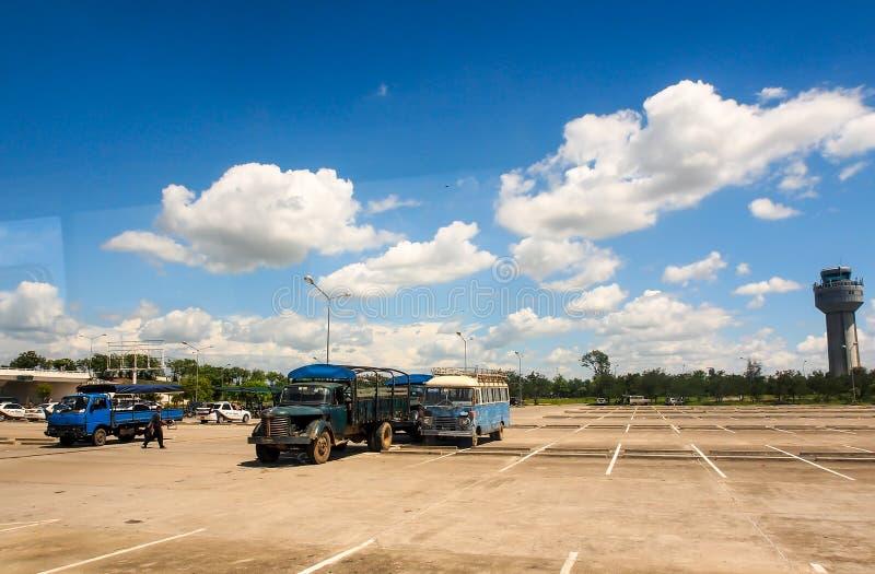 Διεθνής αερολιμένας του Mandalay, το Μιανμάρ 3 στοκ εικόνες με δικαίωμα ελεύθερης χρήσης