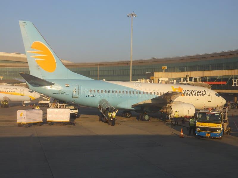 Διεθνής αερολιμένας Shivaji Maharaj Chhatrapati σε Mumbai, Ινδία στοκ φωτογραφίες με δικαίωμα ελεύθερης χρήσης