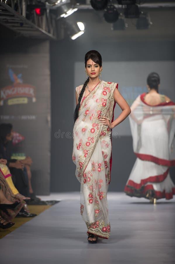 Διεθνής εβδομάδα 2012 μόδας Chennai στοκ εικόνες