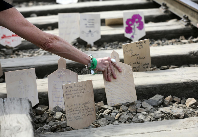 Διεθνής ημέρα ενθύμησης ολοκαυτώματος στοκ εικόνες