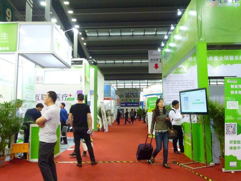 Διεθνής κινητή βιομηχανία EXPO υγείας Shenzhen στοκ φωτογραφίες