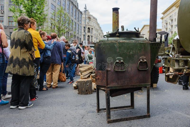 Διεθνής κουζίνα τομέων φεστιβάλ στρατιωτική στοκ εικόνες