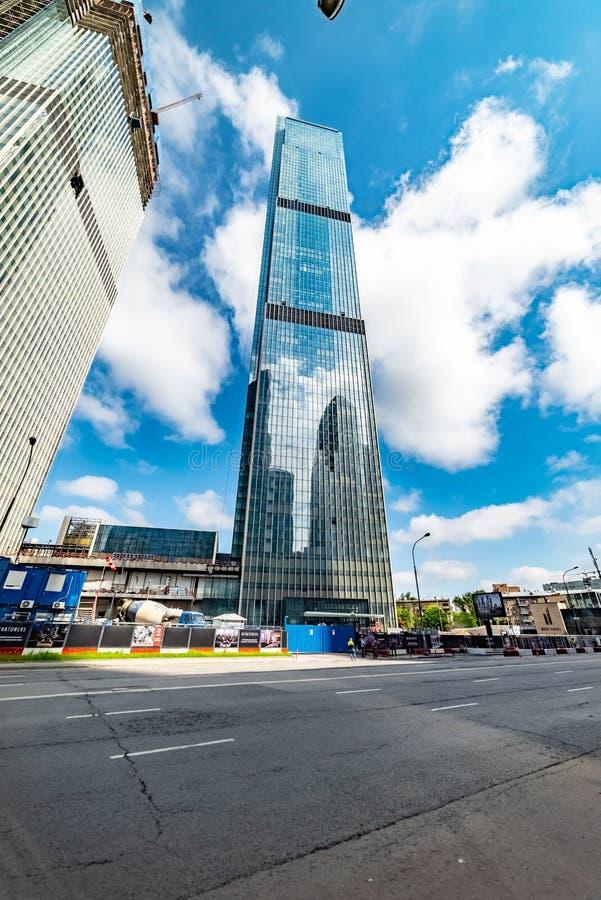 Διεθνής Μόσχα-πόλη εμπορικών κέντρων της Μόσχας Πύργοι Neva — πολυόροφο κτίριο σύνθετο στοκ φωτογραφία με δικαίωμα ελεύθερης χρήσης
