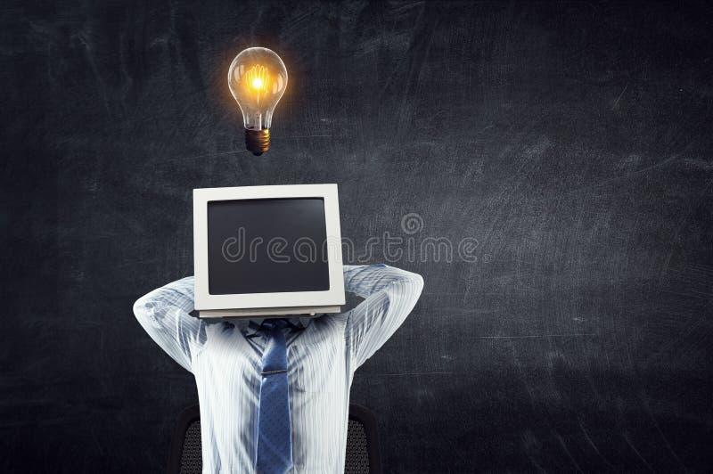 Διευθυνμένος όργανο ελέγχου επιχειρηματίας r στοκ φωτογραφία με δικαίωμα ελεύθερης χρήσης