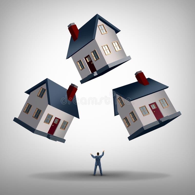 Διευθυντής ακίνητων περιουσιών διανυσματική απεικόνιση