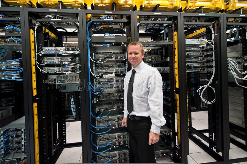 Διευθυντής Datacenter στοκ εικόνα με δικαίωμα ελεύθερης χρήσης