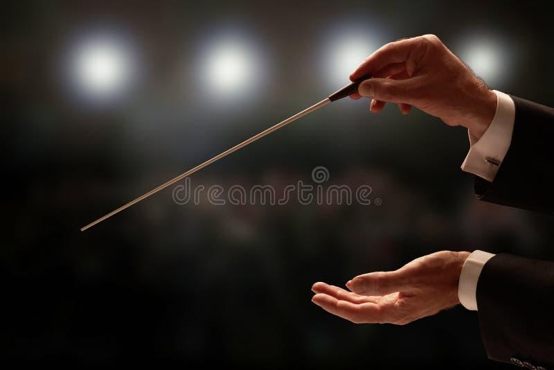 διεύθυνση της ορχήστρας &a στοκ εικόνα