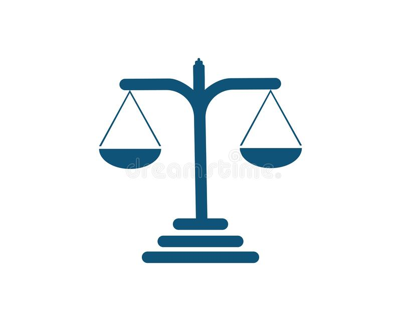 δικαιοσύνη διανυσματική απεικόνιση