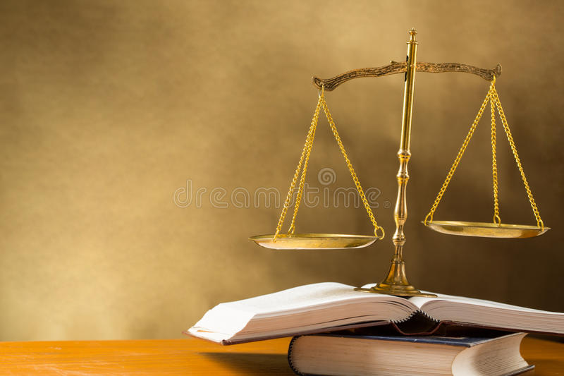 Δικαιοσύνη της κλίμακας στοκ εικόνα με δικαίωμα ελεύθερης χρήσης