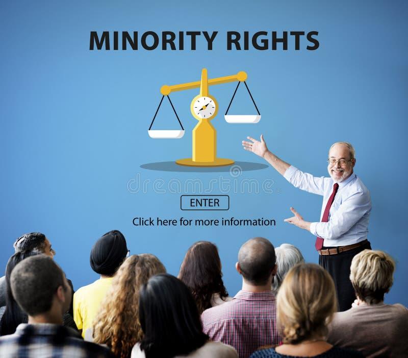 Δικαιώματα κρίσης νόμου που ζυγίζουν τη νομική έννοια στοκ φωτογραφία