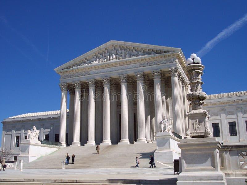 δικαστήριο ανώτατο στοκ εικόνες