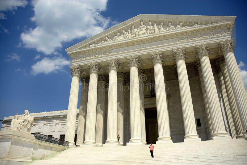 δικαστήριο ανώτατο στοκ φωτογραφία