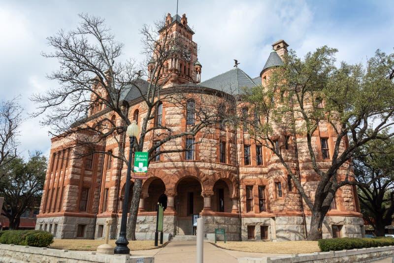 Δικαστήριο κομητειών του Ellis σε Waxahachie, TX στοκ εικόνες με δικαίωμα ελεύθερης χρήσης