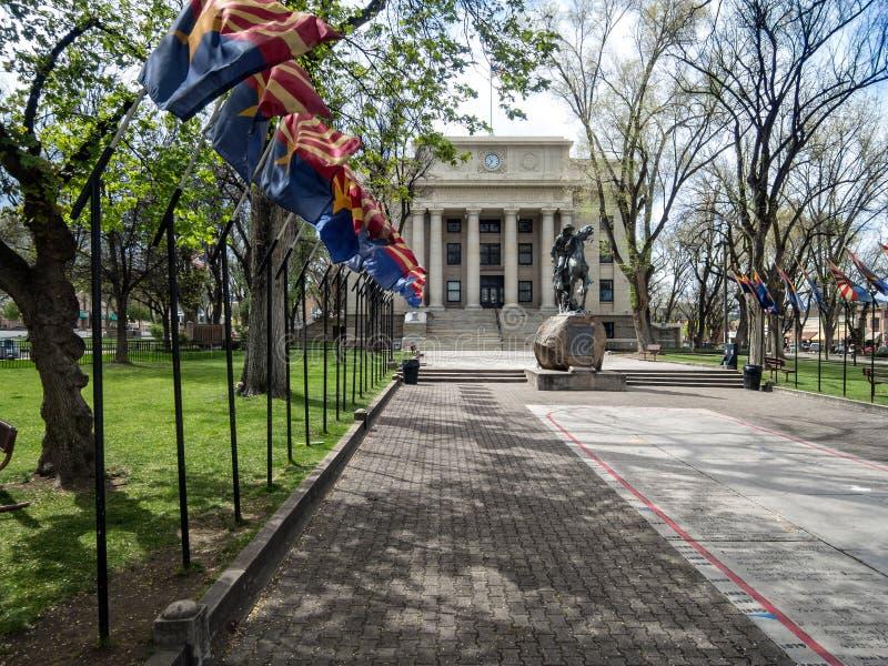 Δικαστήριο κομητειών Yavapai, Prescott, Αριζόνα στοκ εικόνες