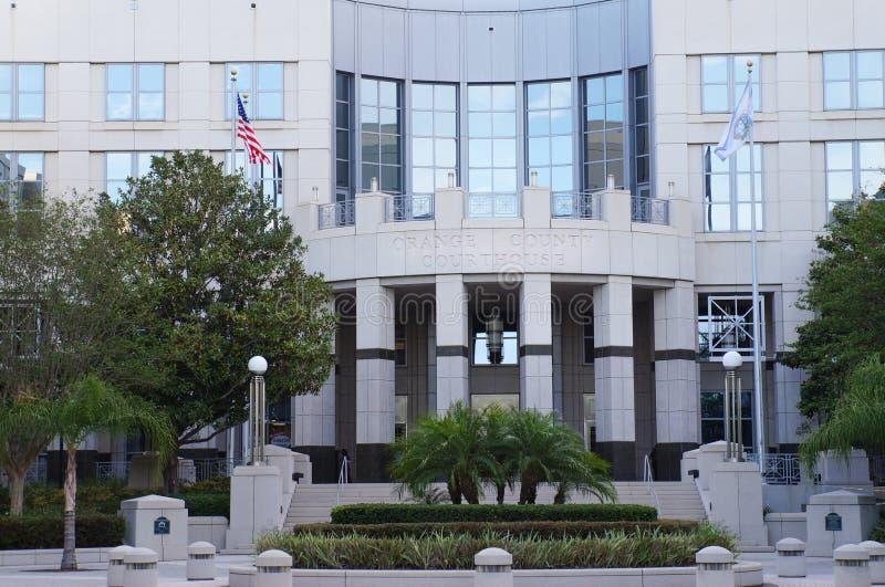 Δικαστήριο της Κομητείας Orange, Ορλάντο, Φλώριδα στοκ εικόνα με δικαίωμα ελεύθερης χρήσης