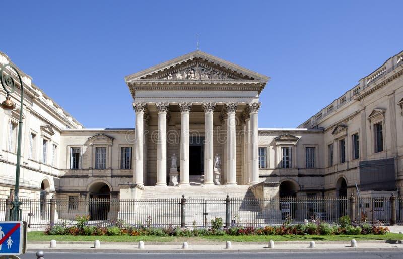 Δικαστήριο του Μονπελιέ στοκ φωτογραφία με δικαίωμα ελεύθερης χρήσης
