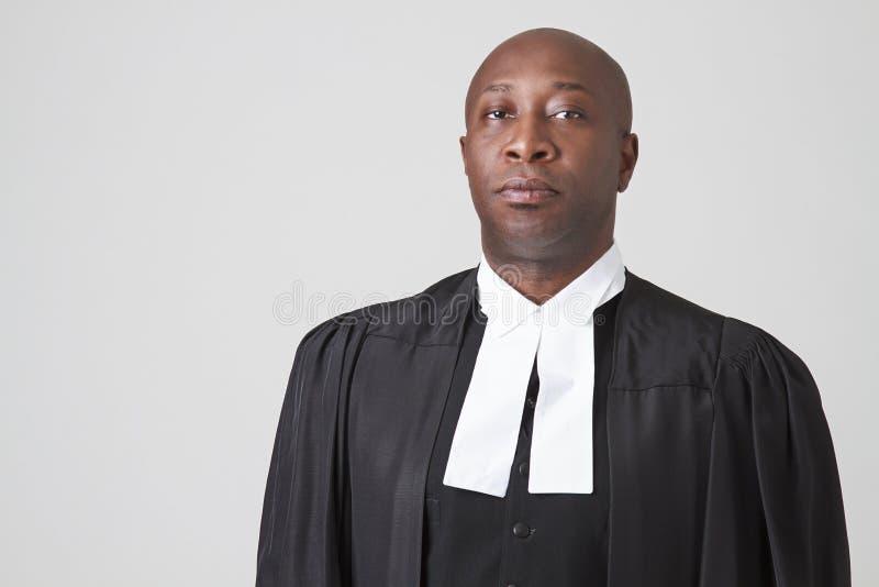 Δικαστής αφροαμερικάνων στοκ φωτογραφίες με δικαίωμα ελεύθερης χρήσης