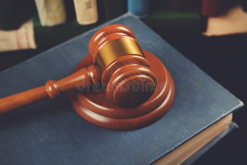 Δικαστής στο βιβλίο στοκ εικόνες με δικαίωμα ελεύθερης χρήσης