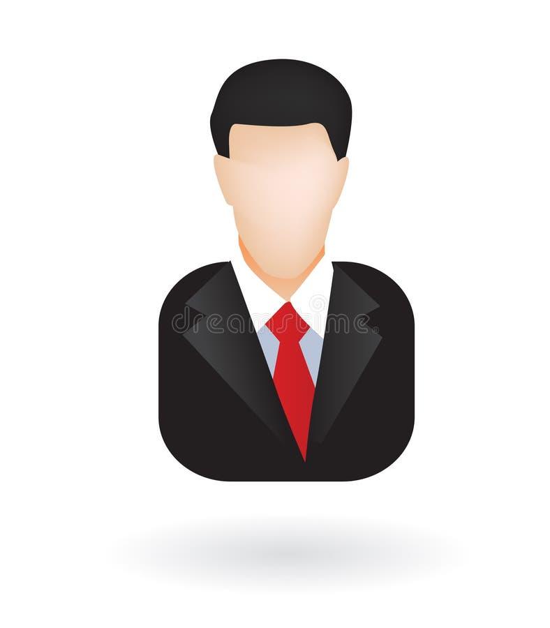 δικηγόρος επιχειρηματιώ&n διανυσματική απεικόνιση