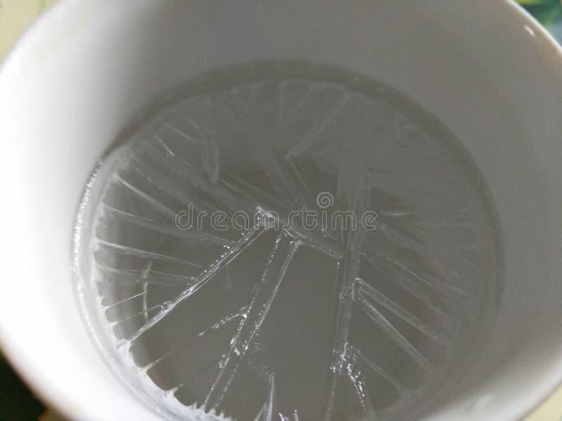 Δικτυωτό πλέγμα πάγου στοκ εικόνες με δικαίωμα ελεύθερης χρήσης