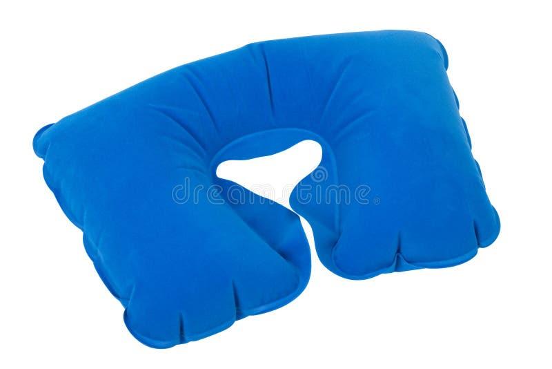 Διογκώσιμο μαξιλάρι λαιμών στοκ φωτογραφία με δικαίωμα ελεύθερης χρήσης