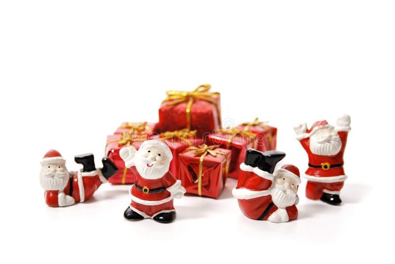Διοικητικές μέριμνες Santa στοκ φωτογραφία με δικαίωμα ελεύθερης χρήσης
