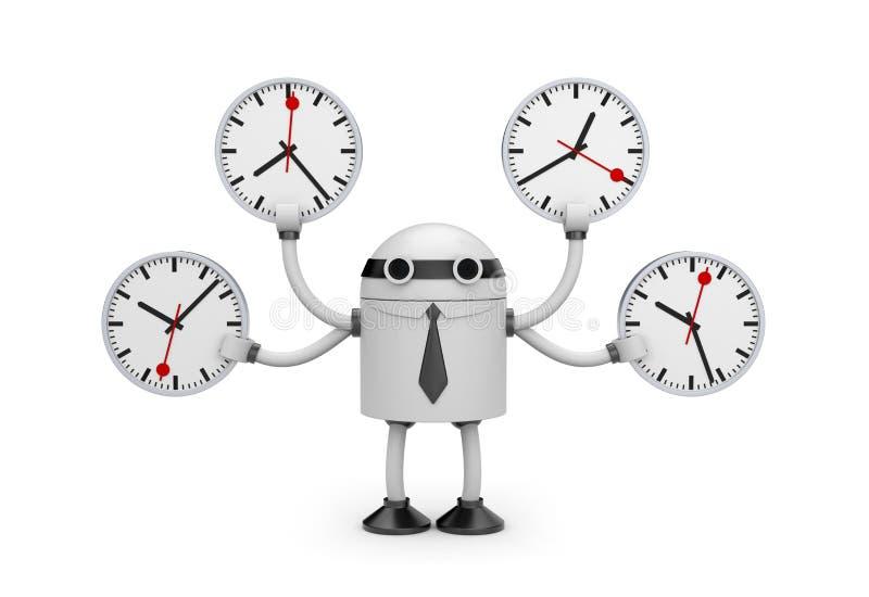 διοικητικός χρόνος απεικόνιση αποθεμάτων