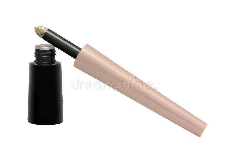 Διορθωτής Makeup ματιών που απομονώνεται στο λευκό στοκ φωτογραφία με δικαίωμα ελεύθερης χρήσης