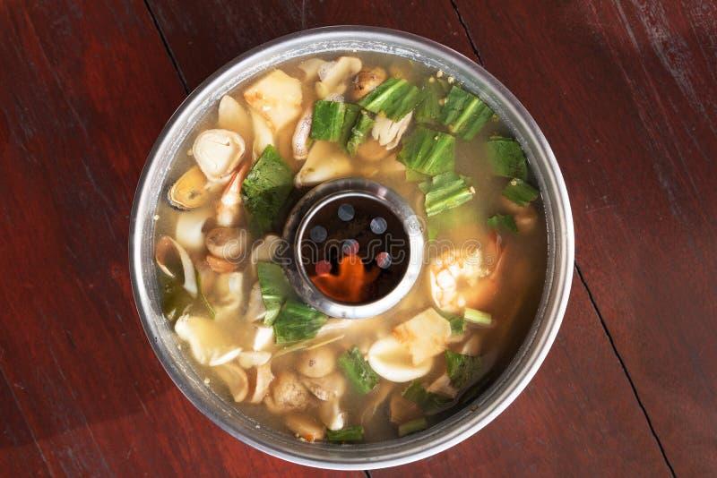 Διοσκορέα του Tom goong, ταϊλανδικά τρόφιμα στοκ φωτογραφία με δικαίωμα ελεύθερης χρήσης
