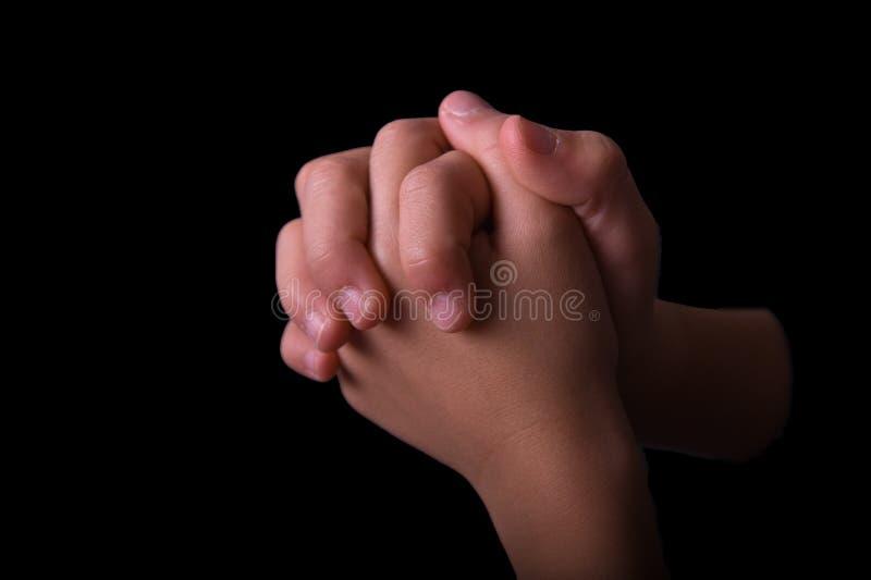 διπλωμένα χέρια στοκ φωτογραφία