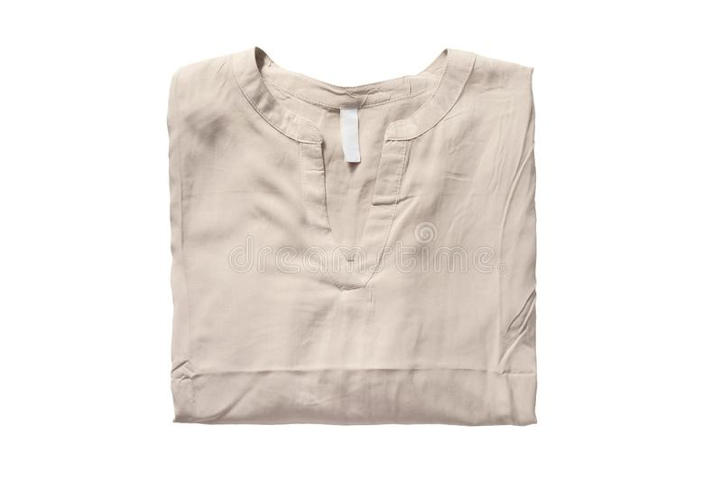 Διπλωμένη μπλούζα που απομονώνεται στοκ φωτογραφία με δικαίωμα ελεύθερης χρήσης