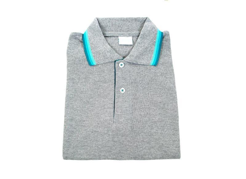 Διπλωμένη μπλούζα που απομονώνεται σε ένα άσπρο υπόβαθρο στοκ φωτογραφίες